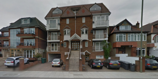 Three bedroom first floor flat for rent.
