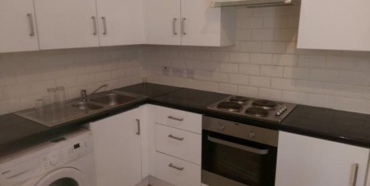 Two bedroom first floor flat for rent.